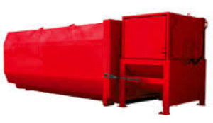 Dumpster Rental Stationary Compactor